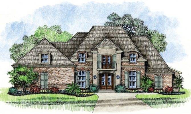 French Country Louisiana House Plans