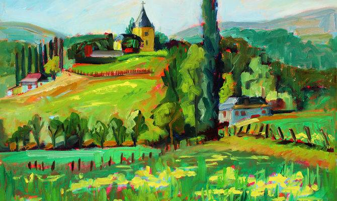 French Country Plein Air Marie Massey