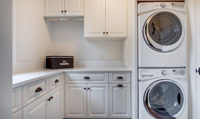 French Country Prior Lake Traditional Laundry Room