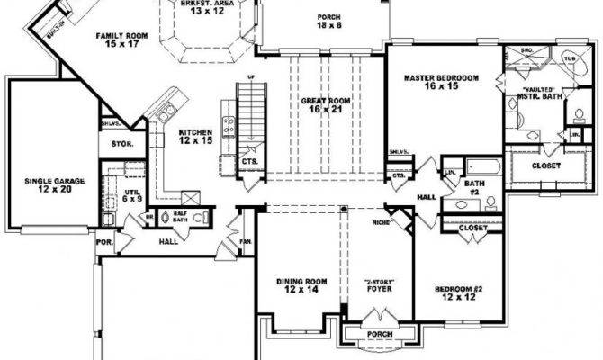 French Country Style House Plan Plans Floor Home