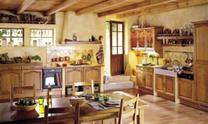 French Country Style Kitchen Design Ideas Home Interior