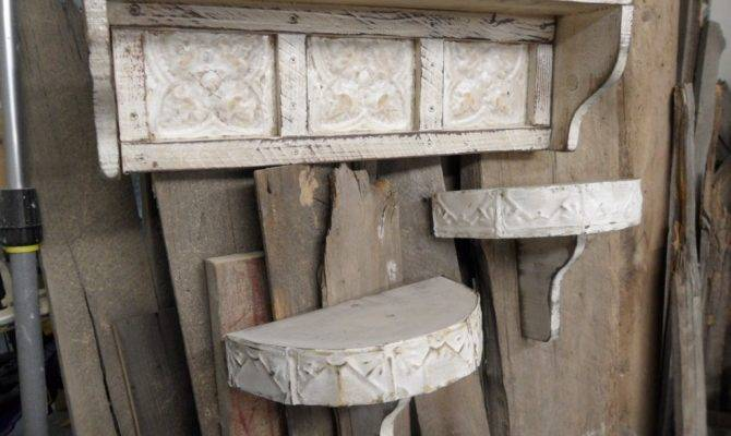 French Country Wall Shelf Cottage Chic Shelves