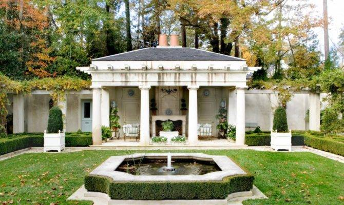French Courtyard Architecture Pak Heydt Associatespak