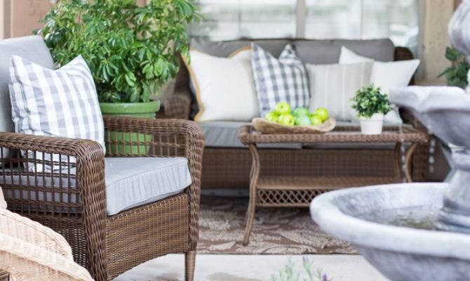 French Inspired Courtyard Design Ideas Home Depot