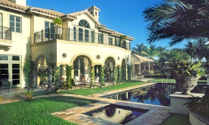 French Mediterranean Home German Luxury Floor Plans