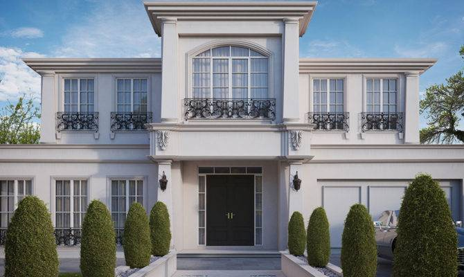 French Provincial Homes House Designs