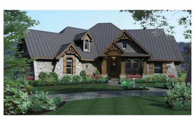 French Provincial Style House Plans