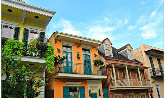 French Quarter Style Homes House Plans