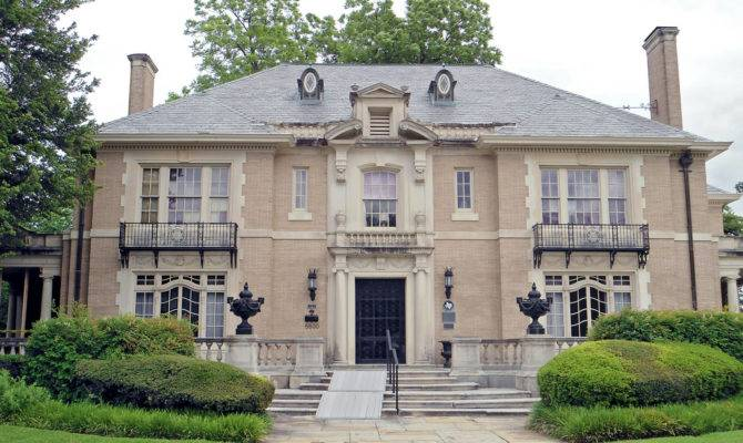 French Renaissance Revival Style Mansion Swiss Avenue