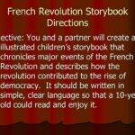 French Revolution Storybook Directions Yurtgc