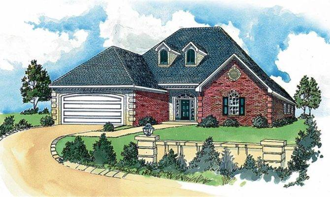 French Style Houses House Plans Plan Collection