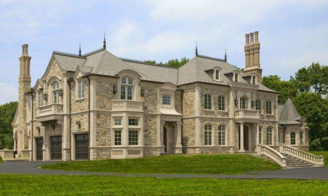 French Style Luxury Mansions Related