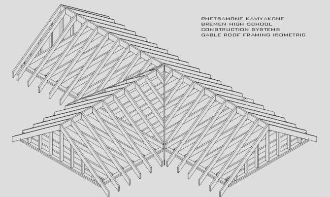 Fresh Gable Roof Plan Architecture Plans