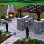 Fresh Modern Design Outdoor Summer Kitchen