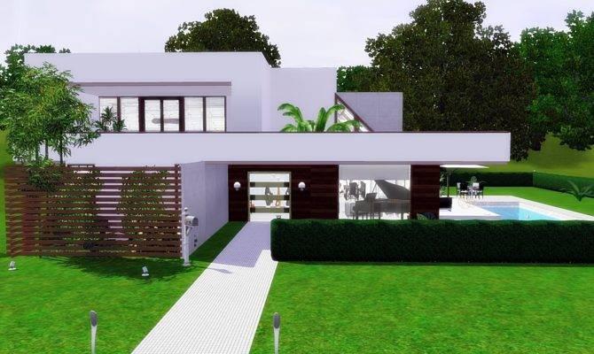 Fresh Modern Sims House Plans