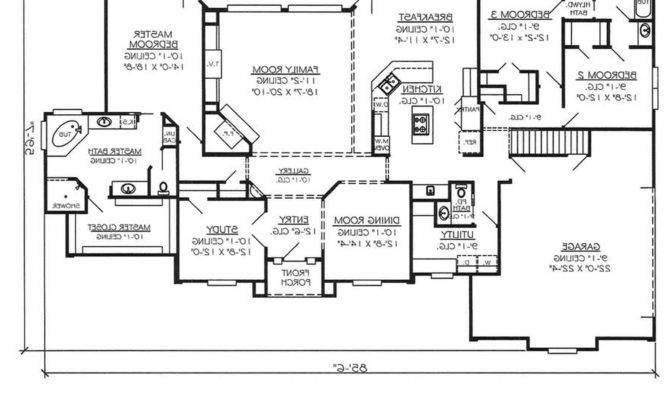 Fresh Open Floor Plan House Plans Remodel Interior