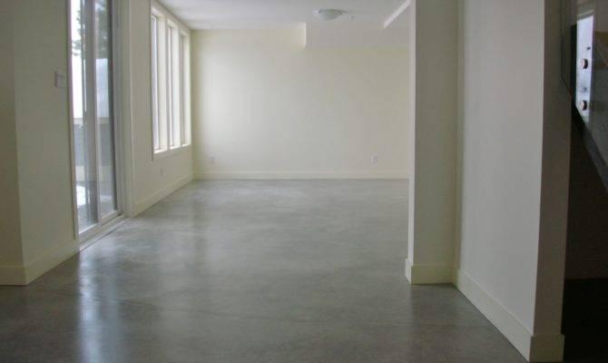 Friendly Basement Concrete Floors Inexpensive Viable Flooring