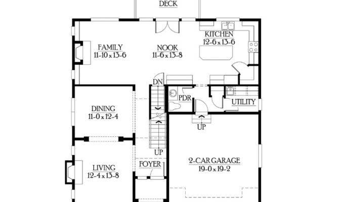 Friendly Open Floor Plan Eurohouse