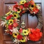 Front Door Fall Wreath Craft Ideas Fresh Home