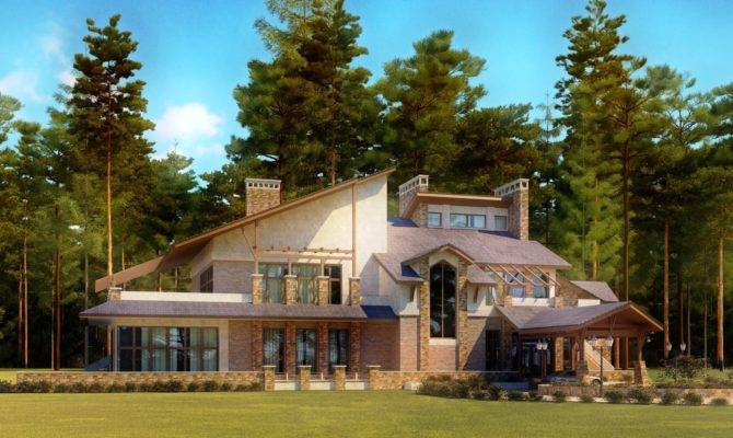 Front Elevation House Plan Design Creative Contemporary