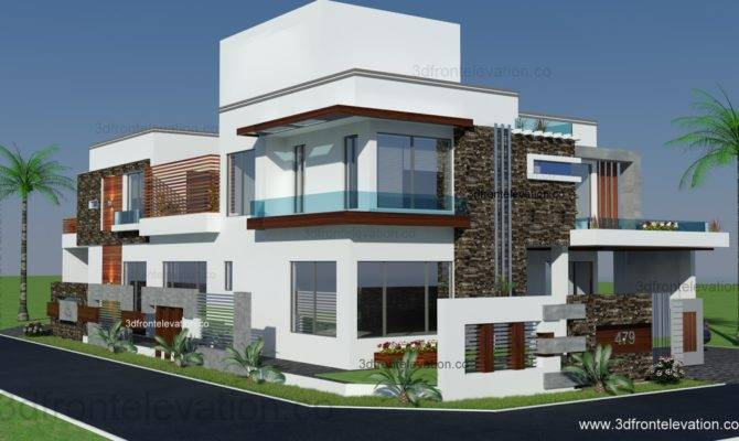 Front Elevation Lahore
