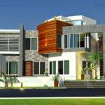 Front Elevation Oman Modern Contemporary Villa