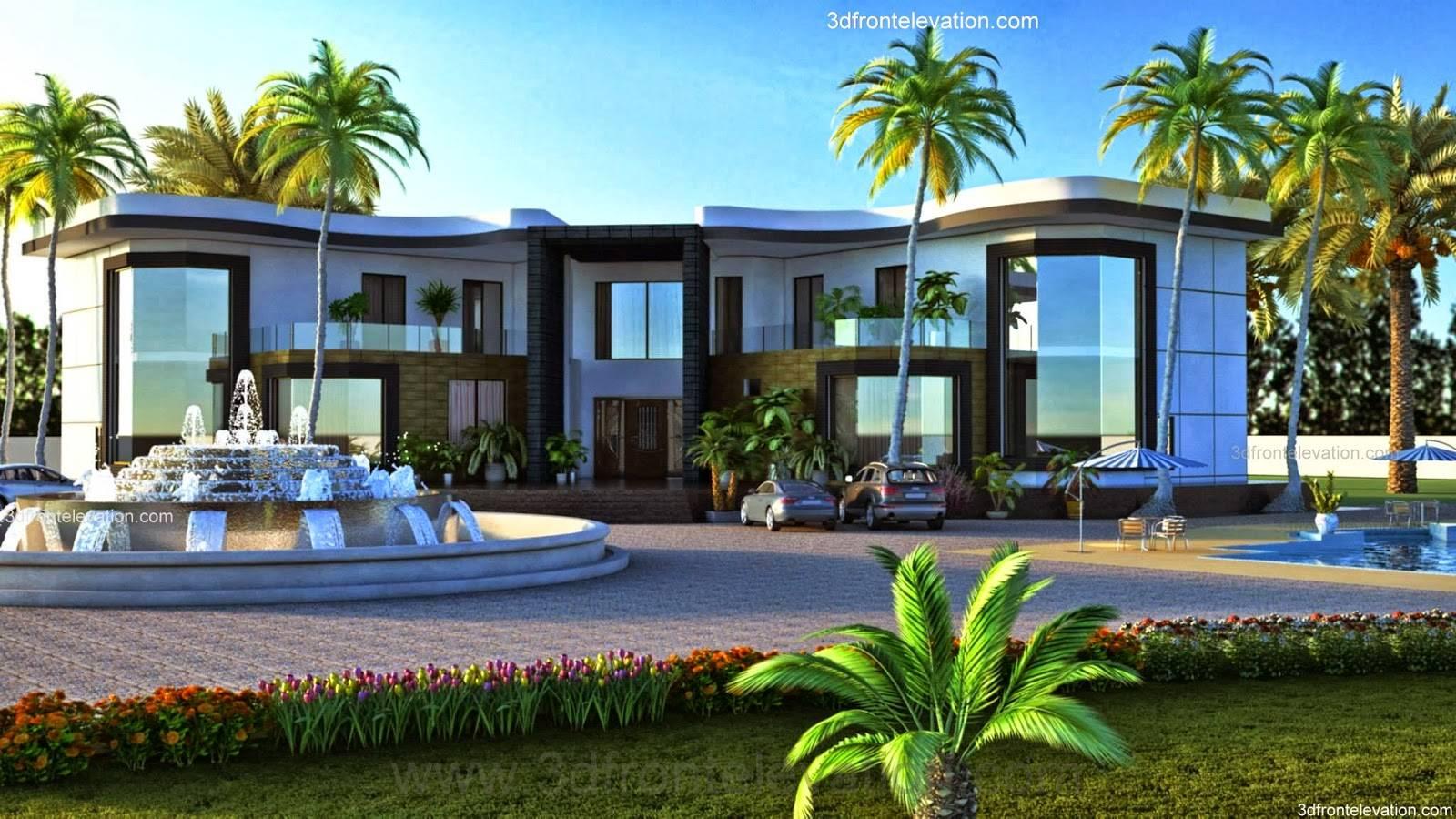 Front Elevation Pakistani Home Design House Plans 172963