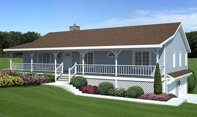 Front Porch Additions Ranch Homes