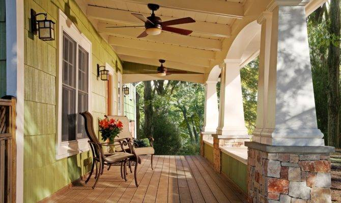 Front Porch Columns Craftsman Arch Arts