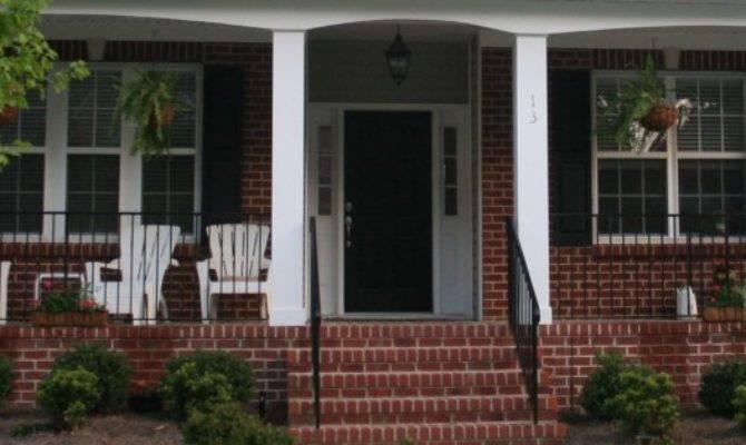 Front Porch Decorate Brick Porches Swanstone