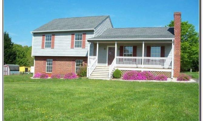 Front Porch Designs Split Level Homes Home
