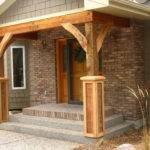 Front Porch Posts Pinterest Timber Frame Homes