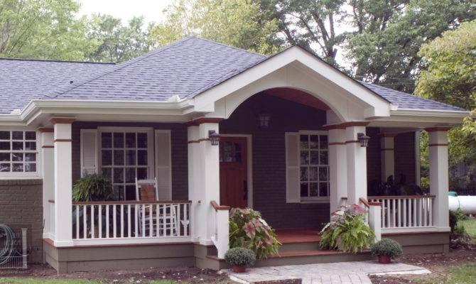 Front Porch Roof Modern Karenefoley Chimney