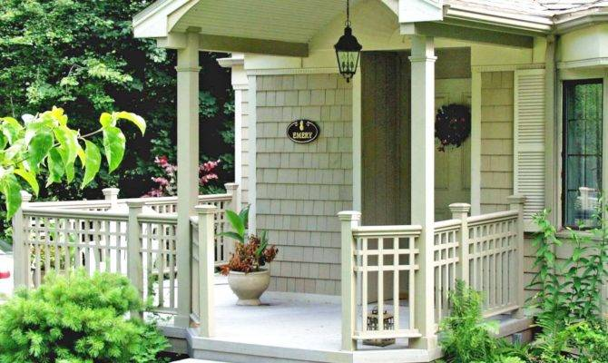 Front Porches Pictorial Essay Suburban Boston Decks