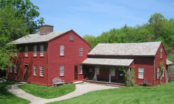 Fruitlands Museum Exterior Bronson Alcott Farmhouse