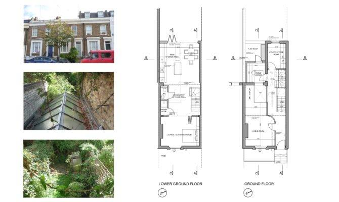 Fulham House Extension Lower Ground Floor Design Plans