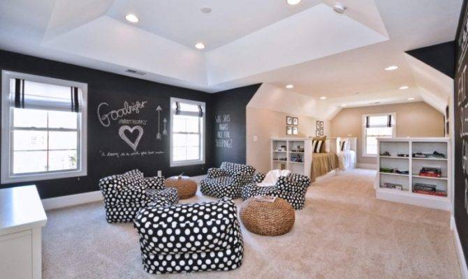 Fun Funky Bonus Room Ideas Your Home Cbf