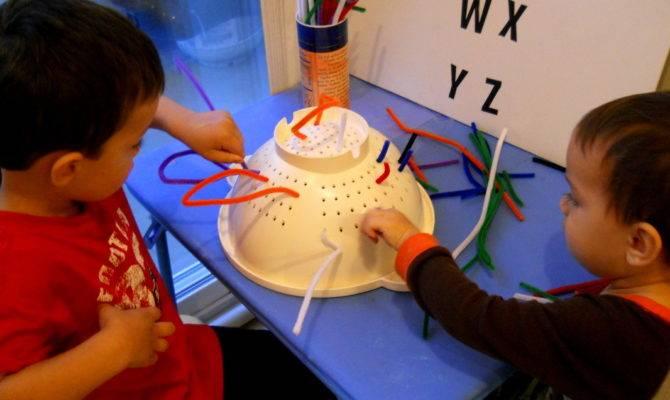 Fun Home Activities Toddlers Preschoolers Fresh Idea