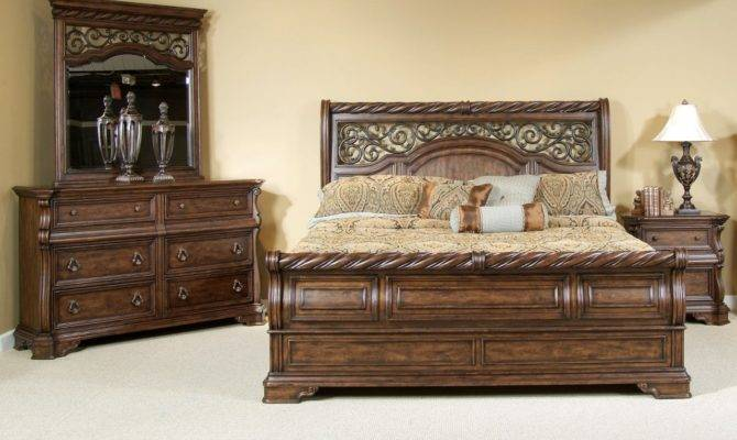 Furniture Arbor Place Sleigh Bedroom Set Liberty