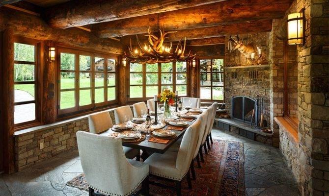 Fusion Interiors Luxury Mountain Ranch