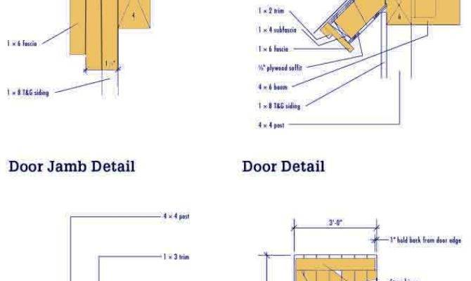 Gable Shed Blueprints Plans Diy Garden