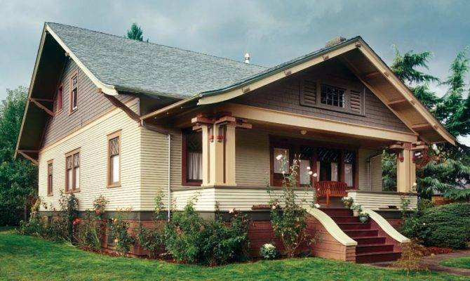 Gabled Front Porch Complete Exaggerated Soffit Overhang