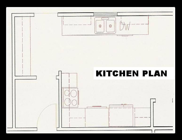 Galley Kitchen Floor Plans Besto Blog House Plans 124411