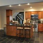 Galley Kitchen Island Floor Plans Trash Cans Bakeware Sets Table