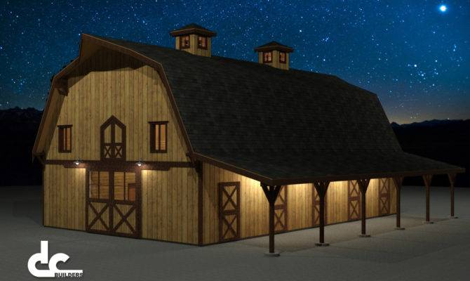 Gambrel Barn Builders