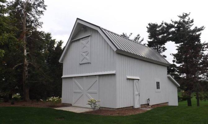 Gambrel Barn Designs Plans