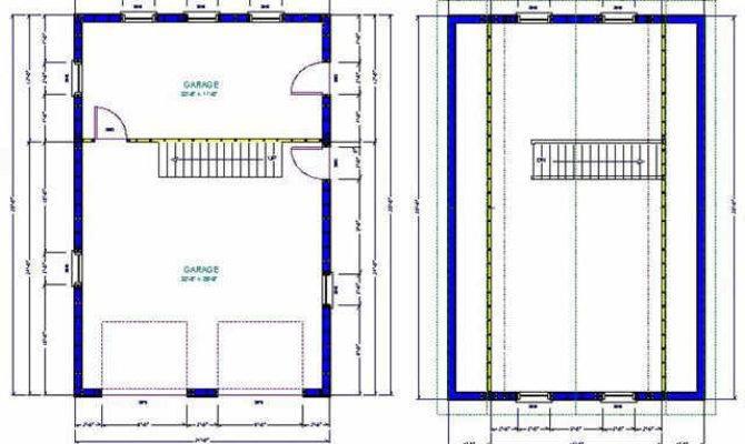Gambrel Barn Garage Plans Sds