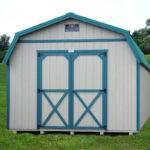 Gambrel Barn Optional Metal Roof
