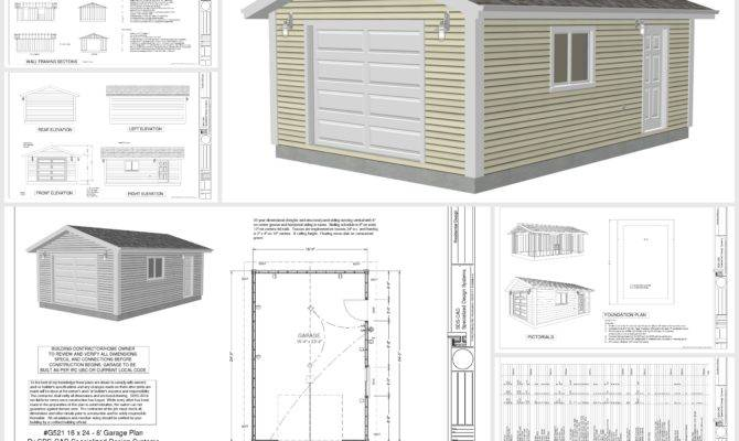 Gambrel Garage Houses Plans Designs