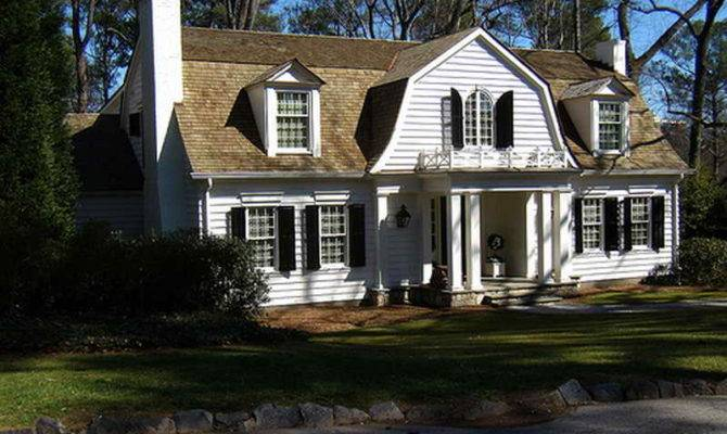 Gambrel House Plans Houses Roof Barn Also Ideass